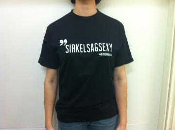 "T-shirt ""Sirkelsagsexy"""